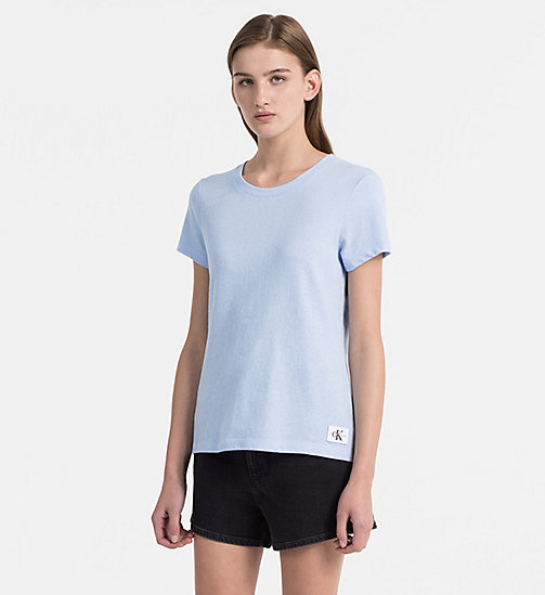 CALVIN KLEIN JEANS Basic T-Shirt - CHAMBRAY BLUE -  NEW IN - main image