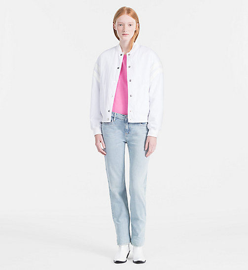 CALVIN KLEIN JEANS Basic T-Shirt - WILD ORCHID - CALVIN KLEIN JEANS CLOTHES - main image 1