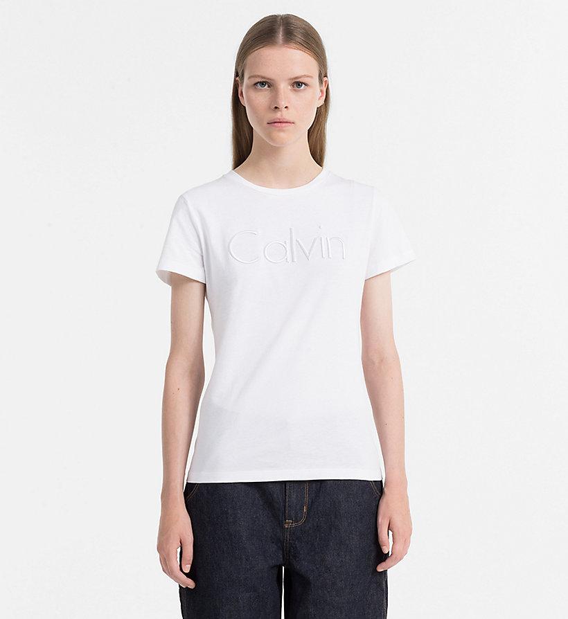 T shirt avec logo calvin klein j20j206587514 - T shirt avec photo ...