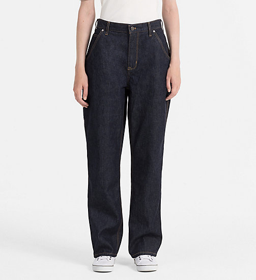 CALVIN KLEIN JEANS Carpenter Jeans - NAIL BLUE - CALVIN KLEIN JEANS STRAIGHT JEANS - main image