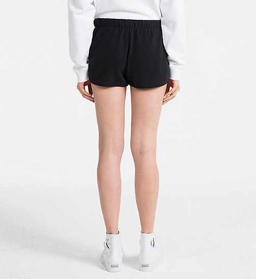 CALVIN KLEIN JEANS Logo Sweat-Shorts - CK BLACK - CALVIN KLEIN JEANS NEW IN - main image 1