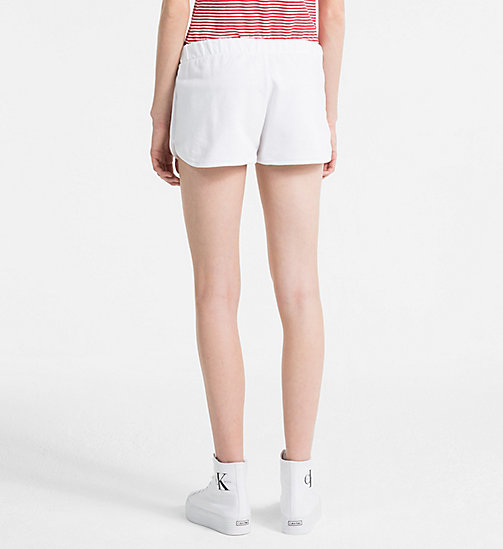 CALVIN KLEIN JEANS Logo Sweat-Shorts - BRIGHT WHITE - CALVIN KLEIN JEANS LOGO SHOP - main image 1