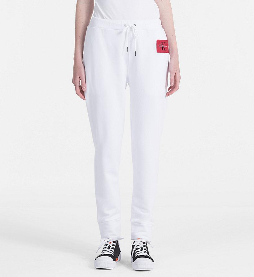 Cotton Terry Trousers Calvin Klein qWJOqs