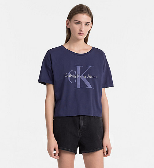 CALVIN KLEIN JEANS Logo T-shirt - PEACOAT - CALVIN KLEIN JEANS NEW IN - main image