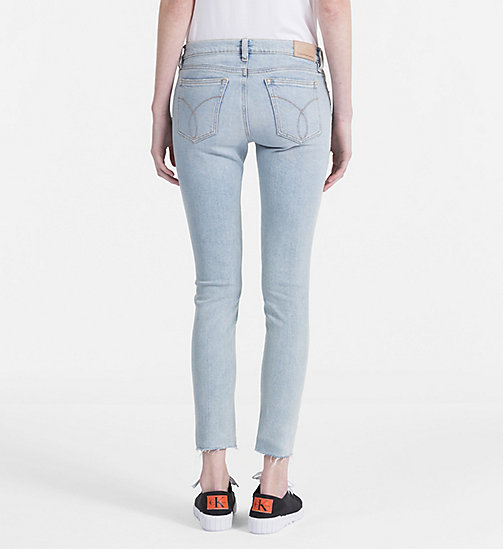 CALVIN KLEIN JEANS High Rise Skinny Ankle Jeans - BERLIN BLUE STR - CALVIN KLEIN JEANS NEW IN - detail image 1