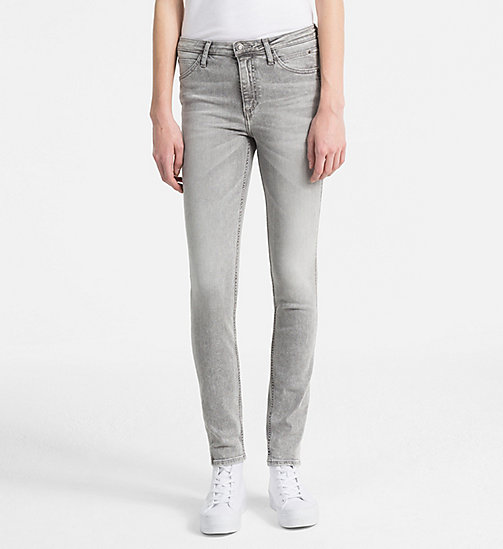 CALVIN KLEIN JEANS Sculpted Skinny-Jeans - LIGHTNING GREY STR - CALVIN KLEIN JEANS NEW IN - main image