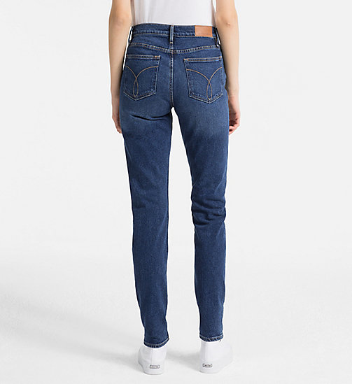 CALVIN KLEIN JEANS High-Rise Slim-Jeans - TRUE BLUE CMF - CALVIN KLEIN JEANS NEW IN - main image 1