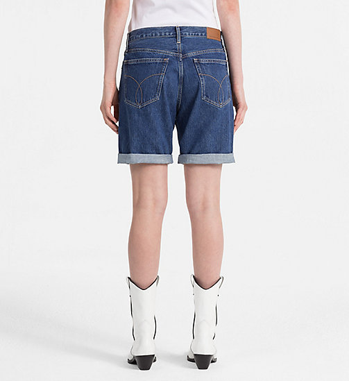 CALVIN KLEIN JEANS Denim Shorts - CHRISTIANE BLUE RGD - CALVIN KLEIN JEANS NEW IN - detail image 1