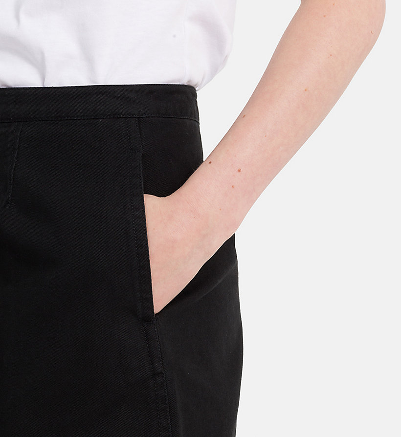 CALVIN KLEIN JEANS Canvas Mini Skirt - SAFARI - CALVIN KLEIN JEANS WOMEN - detail image 2