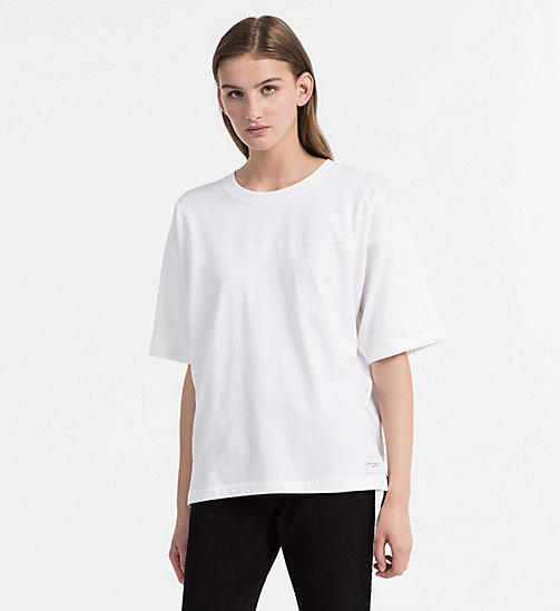 CALVIN KLEIN JEANS Relaxed T-Shirt - BRIGHT WHITE - CALVIN KLEIN JEANS NEW IN - main image