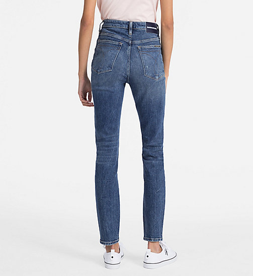 CALVIN KLEIN JEANS CKJ 010 High Rise Skinny Jeans - CASTRO BLUE DSTR - CALVIN KLEIN JEANS SKINNY JEANS - detail image 1