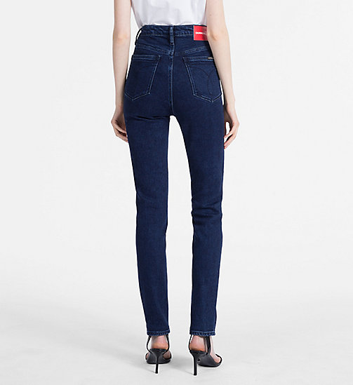 CALVIN KLEIN JEANS CKJ 010 High Rise Skinny Jeans - SANOMA BLUE - CALVIN KLEIN JEANS SKINNY JEANS - detail image 1