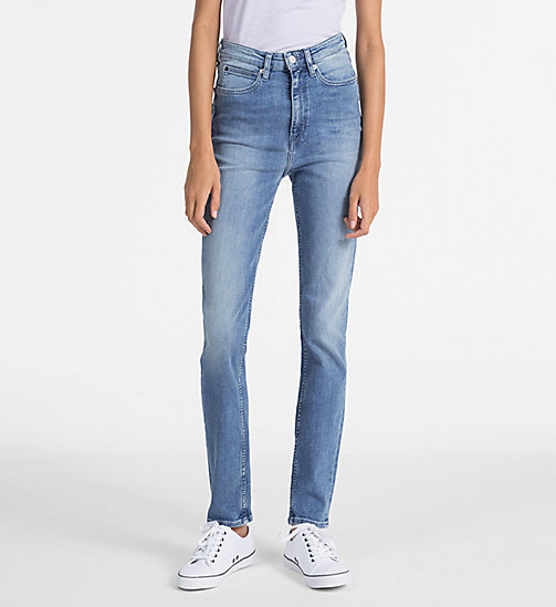 CALVIN KLEIN JEANS CKJ 010 High Rise Skinny Jeans - POTRERO - CALVIN KLEIN JEANS THE DENIM INDEX - main image