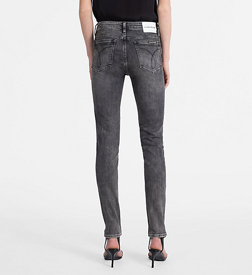 CALVIN KLEIN JEANS CKJ 011 Mid Rise Skinny Jeans - YUBA GREY - CALVIN KLEIN JEANS THE DENIM INDEX - подробное изображение 1