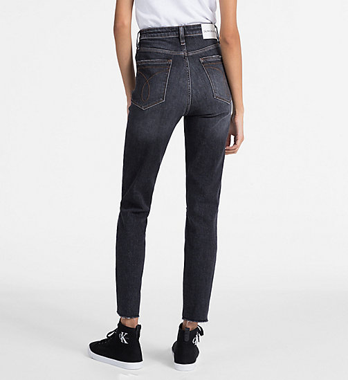 CALVIN KLEIN JEANS CKJ 010 High Rise Skinny Ankle Jeans - HIGHLAND BLACK - CALVIN KLEIN JEANS KLEIDUNG - main image 1