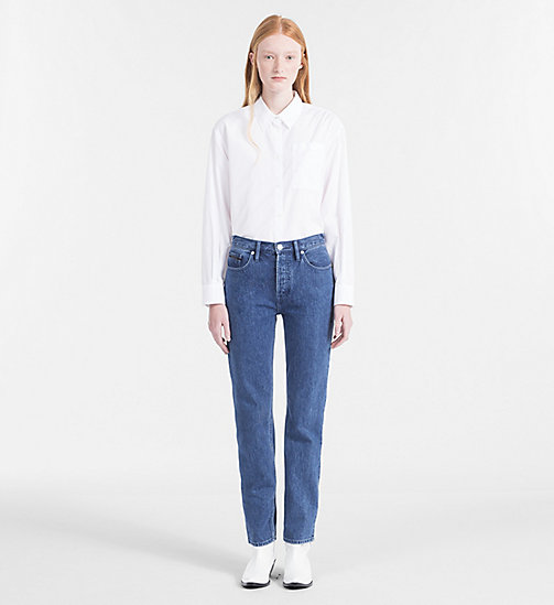 CALVIN KLEIN JEANS Oversized Poplin Shirt - BRIGHT WHITE - CALVIN KLEIN JEANS NEW IN - detail image 1