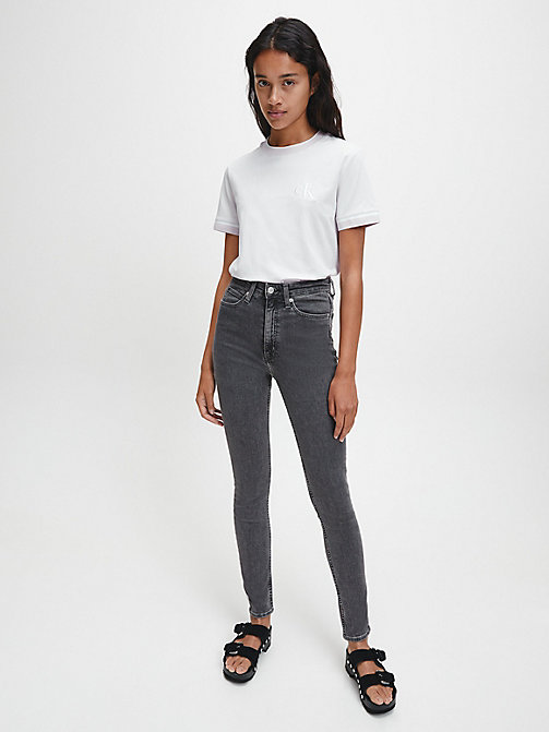 CALVIN KLEIN JEANS CKJ 010 High Rise Skinny Jeans - STOCKHOLM GREY - CALVIN KLEIN JEANS HERBST-TRAUM - main image 1