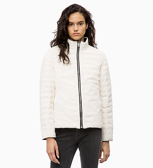 CALVIN KLEIN JEANS Reversible Down Puffer Jacket - CK BLACK /  EGRET -  NEW IN - detail image 1