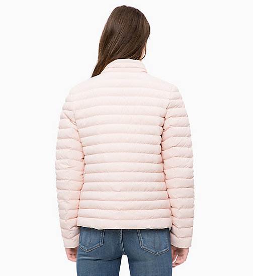 CALVIN KLEIN JEANS Reversible Down Puffer Jacket - CHINTZ ROSE / EGRET - CALVIN KLEIN JEANS NEW IN - detail image 1