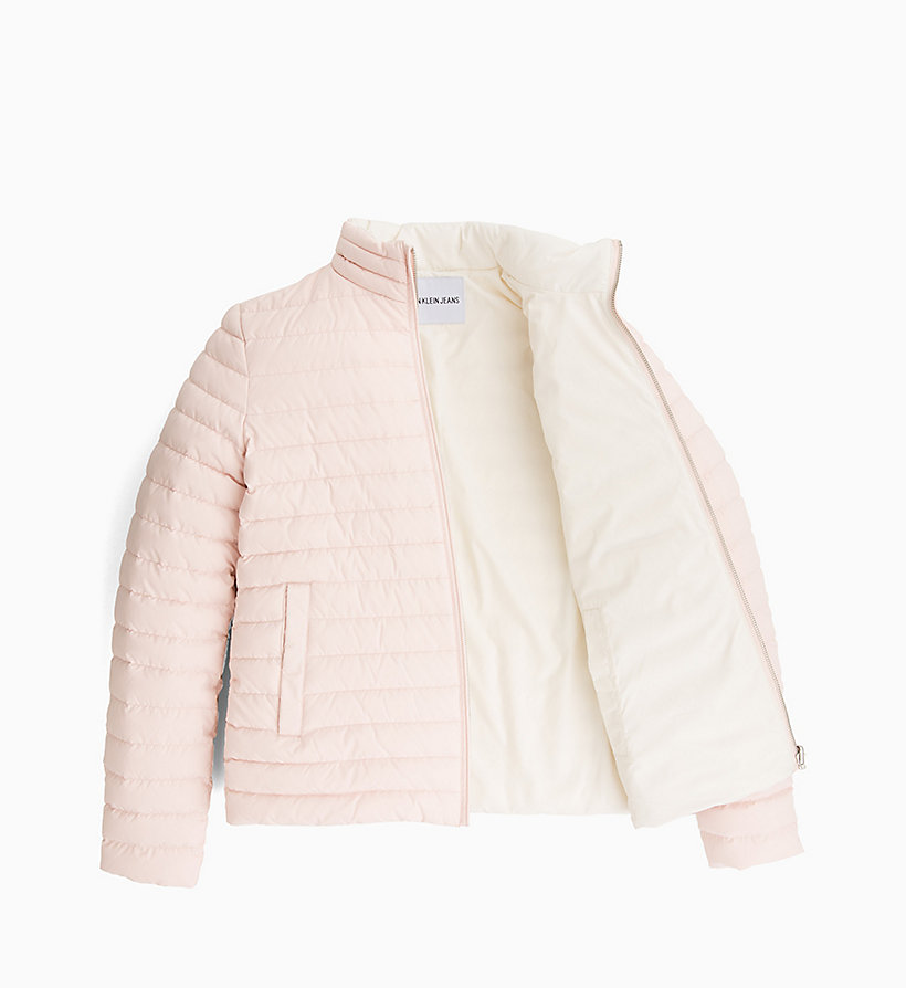 CALVIN KLEIN JEANS Reversible Down Puffer Jacket - OATMEAL - CALVIN KLEIN JEANS WOMEN - detail image 5