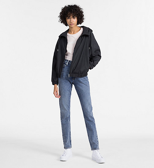 CALVIN KLEIN JEANS Hooded Windbreaker Jacket - CK BLACK - CALVIN KLEIN JEANS NEW IN - detail image 1