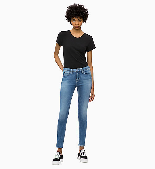 CALVIN KLEIN JEANS Basic Slim T-shirt - CK BLACK - CALVIN KLEIN JEANS NEW IN - detail image 1