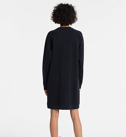 CALVIN KLEIN JEANS Logo Sweatshirt Dress - CK BLACK - CALVIN KLEIN JEANS NEW IN - detail image 1