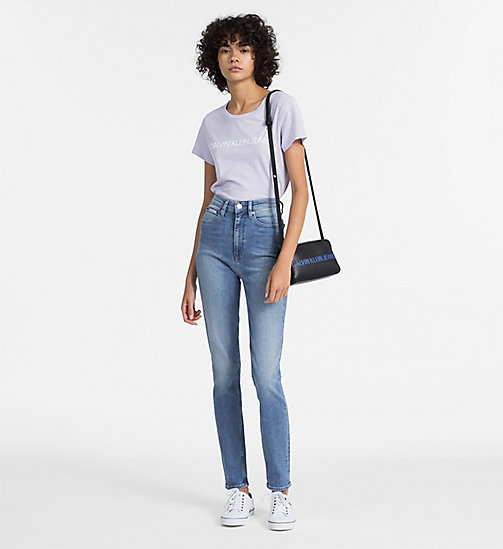 CALVIN KLEIN JEANS Slim Logo T-shirt - ORCHID PETAL - CALVIN KLEIN JEANS NEW IN - detail image 1
