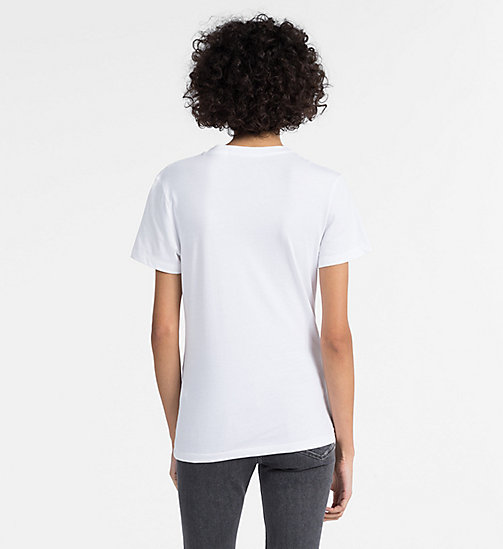 CALVIN KLEIN JEANS Logo T-shirt - BRIGHT WHITE -  NEW IN - detail image 1