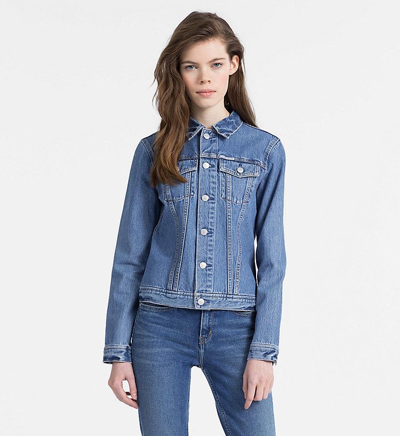 outlet 27cac 57ea3 Giubbotto di jeans con logo da donna da donna Calvin Klein®   J20J208036911