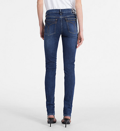 CALVIN KLEIN JEANS CKJ 022 Body Jeans - AMSTERDAM BLUE MID - CALVIN KLEIN JEANS NEW IN - detail image 1