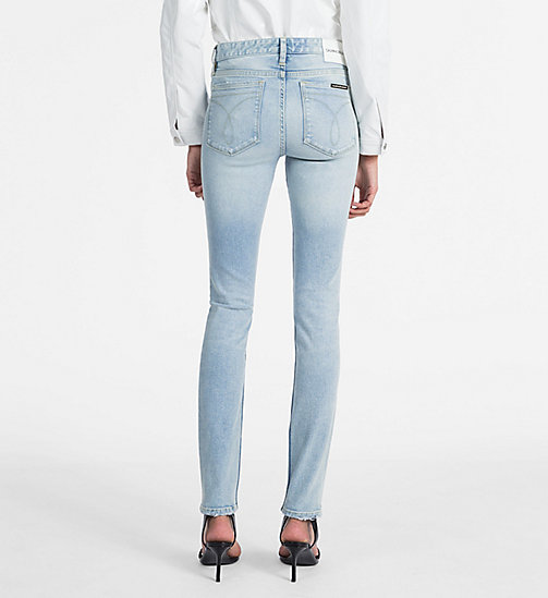 CALVIN KLEIN JEANS CKJ 001 Super Skinny Jeans - BEACH CHALET BLUE - CALVIN KLEIN JEANS THE DENIM INDEX - detail image 1