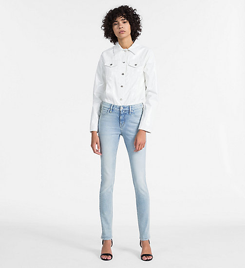 CALVIN KLEIN JEANS CKJ 001 Super Skinny Jeans - BEACH CHALET BLUE - CALVIN KLEIN JEANS THE DENIM INDEX - dettaglio immagine 1