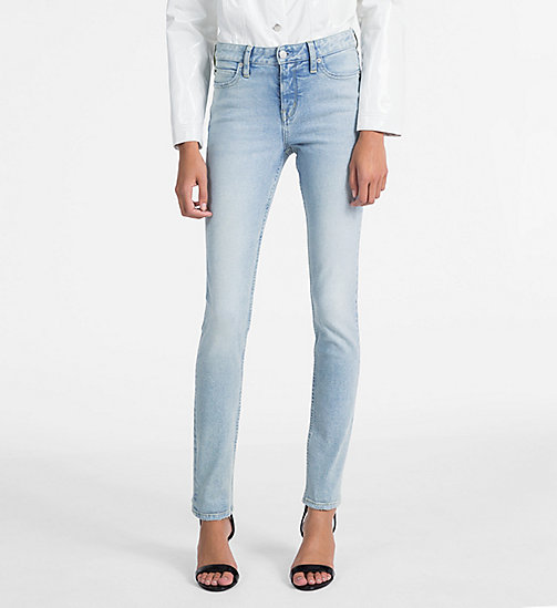 CALVIN KLEIN JEANS CKJ 001 Super Skinny Jeans - BEACH CHALET BLUE - CALVIN KLEIN JEANS THE DENIM INDEX - main image