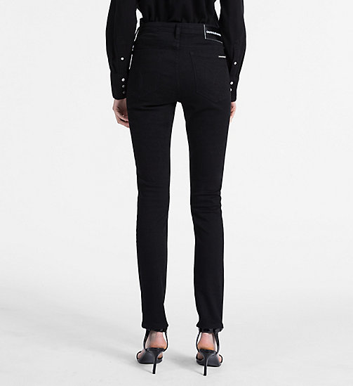 CALVIN KLEIN JEANS CKJ 001 Super Skinny Jeans - BLACK - CALVIN KLEIN JEANS THE DENIM INDEX - detail image 1