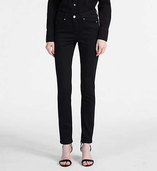 CALVIN KLEIN JEANS CKJ 001 Super Skinny Jeans - BLACK - CALVIN KLEIN JEANS THE DENIM INDEX - immagine principale