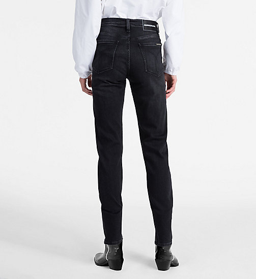 CALVIN KLEIN JEANS CKJ 020 High Rise Slim Jeans - STOCKHOLM BLACK - CALVIN KLEIN JEANS NEW DENIM - detail image 1