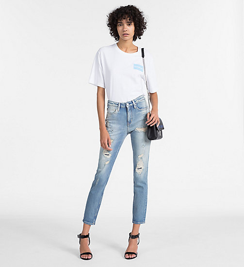 CALVIN KLEIN JEANS CKJ 011 Mid Rise Skinny Ankle Jeans - VALENTINAS BLUE - CALVIN KLEIN JEANS KLEIDUNG - main image 1
