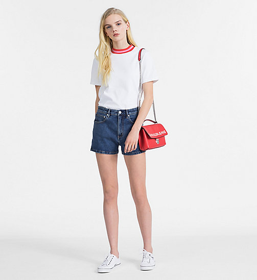 CALVIN KLEIN JEANS High-Rise Denim-Shorts - CHRISTIANE BLUE - CALVIN KLEIN JEANS CLOTHES - main image 1
