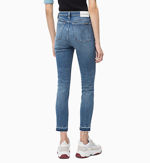 CALVIN KLEIN JEANS CKJ 010 High Rise Skinny Ankle Jeans - ALBURY BLUE - CALVIN KLEIN JEANS The New Off-Duty - image détaillée 1