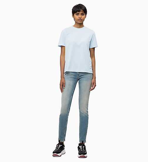 CALVIN KLEIN JEANS CKJ 011 Mid Rise Skinny Jeans - BUSSELTON BLUE - CALVIN KLEIN JEANS KLEIDUNG - main image 1
