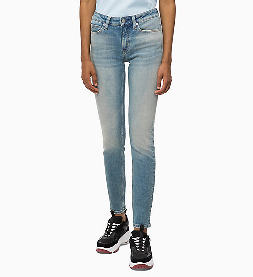 CALVIN KLEIN JEANS CKJ 011 Mid Rise Skinny Jeans - BUSSELTON BLUE - CALVIN KLEIN JEANS KLEIDUNG - main image