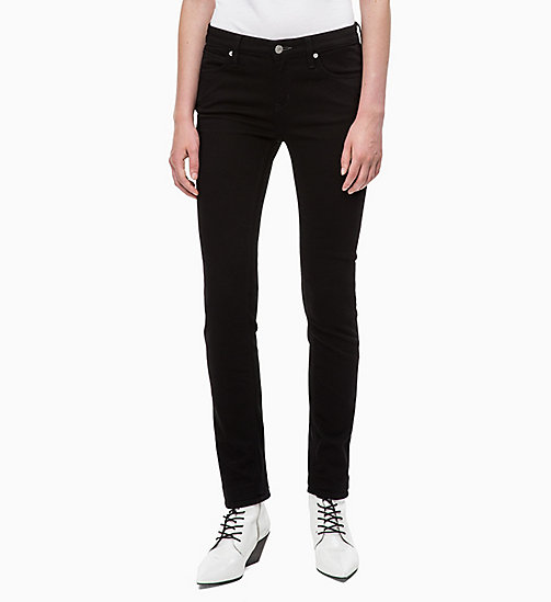 CALVIN KLEIN JEANS CKJ 022 Body Jeans - ETERNAL BLACK - CALVIN KLEIN JEANS IN THE THICK OF IT FOR HER - image principale