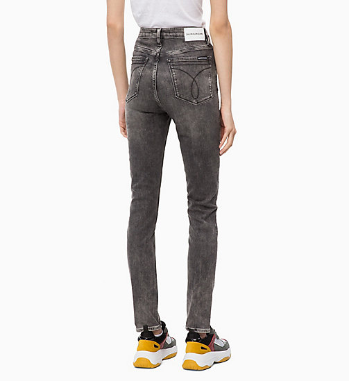 CALVIN KLEIN JEANS CKJ 010 High Rise Skinny Jeans - YUBA GREY - CALVIN KLEIN JEANS IN THE THICK OF IT FOR HER - detail image 1