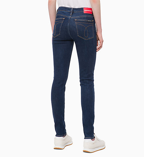 CALVIN KLEIN JEANS CKJ 011 Mid Rise Skinny Jeans - NORSEMAN BLUE - CALVIN KLEIN JEANS KLEIDUNG - main image 1