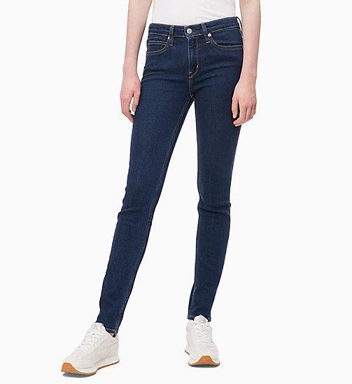 CALVIN KLEIN JEANS CKJ 011 Mid Rise Skinny Jeans - NORSEMAN BLUE - CALVIN KLEIN JEANS KLEIDUNG - main image