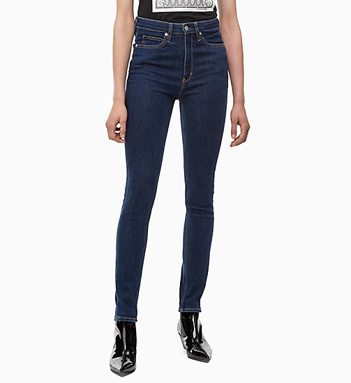 CALVIN KLEIN JEANS CKJ 010 High Rise Skinny Jeans - NORSEMAN BLUE - CALVIN KLEIN JEANS NEW ICONS - main image