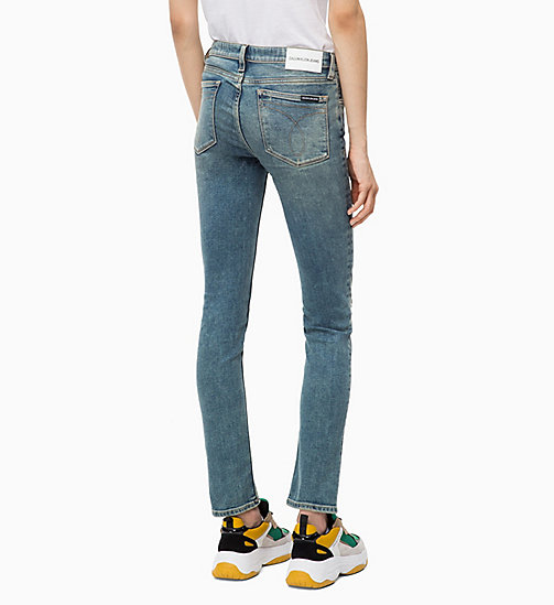 CALVIN KLEIN JEANS CKJ 022 Body Jeans - MACKAY BLUE DSTR - CALVIN KLEIN JEANS The New Off-Duty - main image 1