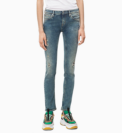 CALVIN KLEIN JEANS CKJ 022 Body Jeans - MACKAY BLUE DSTR - CALVIN KLEIN JEANS The New Off-Duty - main image