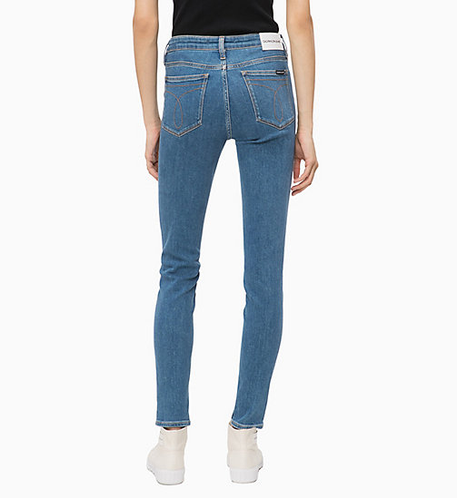 CALVIN KLEIN JEANS CKJ 011 Mid Rise Skinny Jeans - MARALINGA BLUE - CALVIN KLEIN JEANS CLOTHES - detail image 1